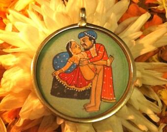 Kama Sutra Painting Pendant