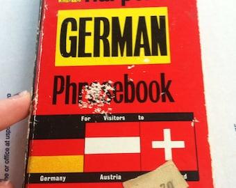 Harper German Phrase Book