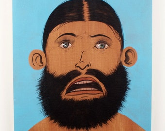 Beard Man / Original Painting