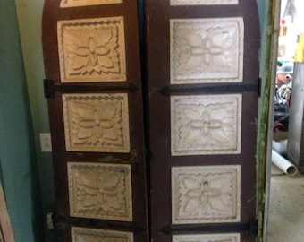 Century home carved doors