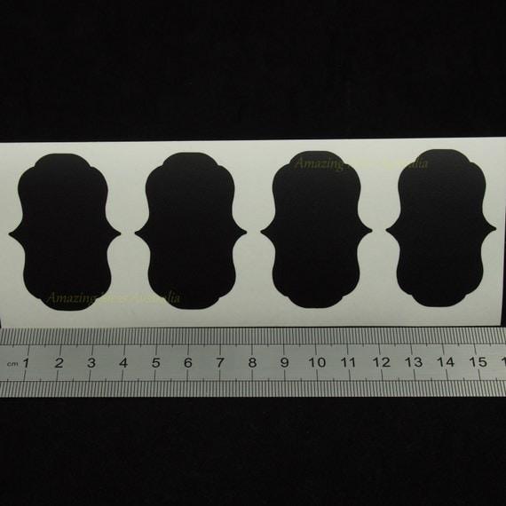 ... Decal5cm 3.5cm) : Blackboard Wedding Gift Tag Stickers Australia