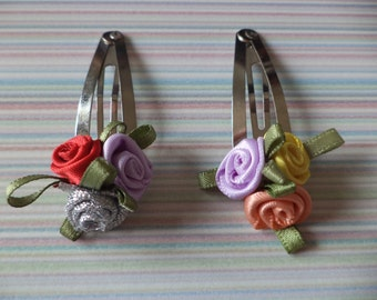 Various Handmade Hair Clips