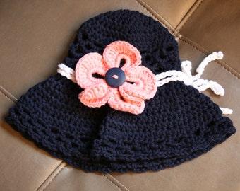 Infant Girls Sun Hat