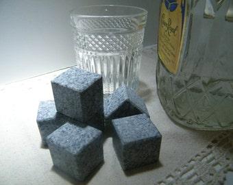 Whiskey Stones/ Granite Ice Cubes/Stone Ice Cubes