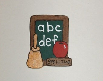 ABC's Magnet/Pin/Ornament
