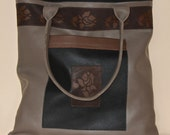 Autumn bag with roses
