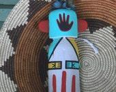 Vintage Hopi Matia Kachina Flat Doll