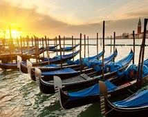 "Counted Cross Stitch Pattern landscape ""Venice (Italy)"""