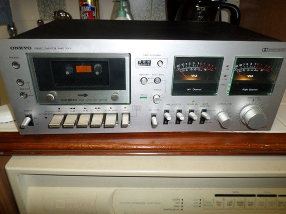 Vintage 1980 39 s onkyo ta 630d stereo cassette by for Balcony noise reduction