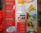 Liquid Fimo by Staedtler Oven Bake Clay, So Many Uses, (See Photos) Cooks Clear, Stays Flexable.