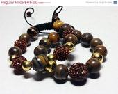 On sale Agate brown bracelet
