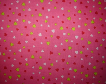 Heart Fabric From Quilting Treasures 100% Cotton