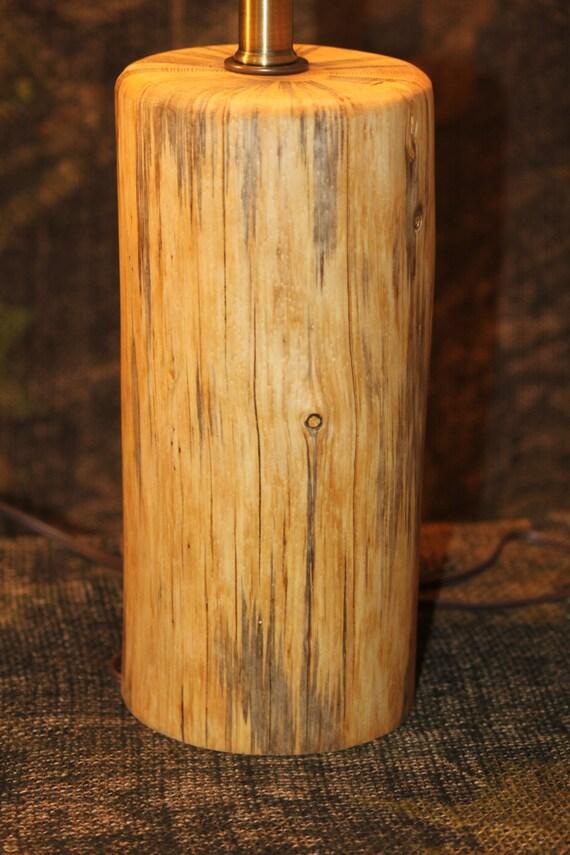 Rustic Handmade Log Lamps Cabin Or Lodge By