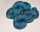 New Edinburgh 100% Wool 220 yard Hand-Dyed Worsted Yarn in Lost at Sea.