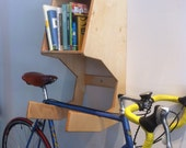 "The ""Cthulhu"" Bike Hanger/Book shelf"