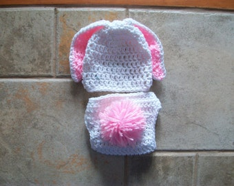 Baby Bunny Hat, Crochet Bunny Hat, Easter Bunny Hat, Bunny Hat, Kids' Animal Hats, Kids' Bunny Hat, Crochet Rabbit Hat,