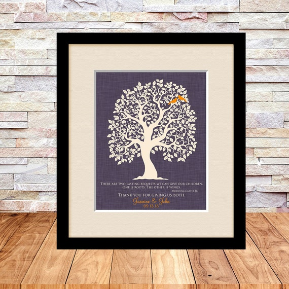 Childrens Wedding Gifts: Parent Wedding Gift Brides Parents Grooms Parents Mother Of