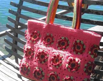 Cestona Mandello crochet bag pattern