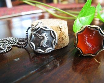 Dragon Wax Seal Necklace