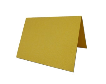 Shimmery Metallic DIY Gold PlaceCards 25 pack