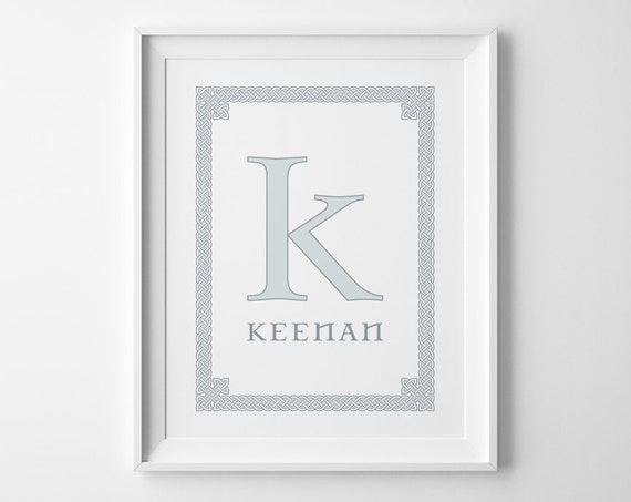 Personalized Baby Gifts Ireland : Personalized baby gift boy nursery art irish