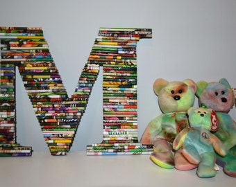 Wall Letters! 91/2 inch rolled paper letters.