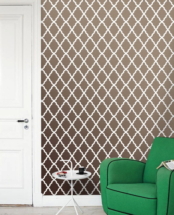 Moroccan Removable Self Adhesive Vinyl Wallpaper Wall Sticker