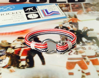 Sailwinds Nautical Rope Bracelet - Team USA-inspired Limited Edition Windjammer Bracelet