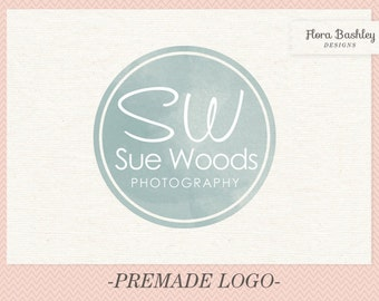 Monogram Logo Design Premade Logo and Watermark - FB086