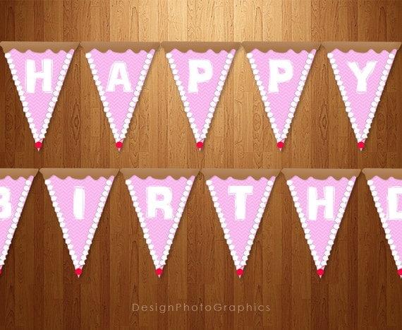 Guirnaldas de cumplea os imprimibles torta feliz cumplea os for Guirnaldas para imprimir