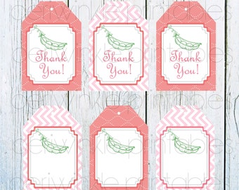 INSTANT DOWNLOAD, Printable Baby Shower Gift Tag, Personalized Gift Tag,  Custom Favor Tag