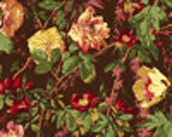 floral cotton quilting fabric 1 Meter