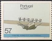 21 Maio 1932 Dornier DO X Cmdt F. Christiansen Portugal Aircraft -Handmade Framed Postage Stamp Art 12322