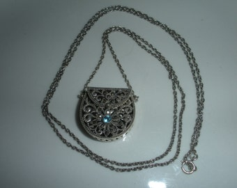 Sterling Purse necklace