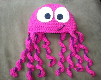 Crochet Octopus Hat : Popular items for crochet octopus hat on Etsy