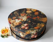 "Hatbox ""Roses painting"" Hatbox, giftbox, handmade - Arsunica"