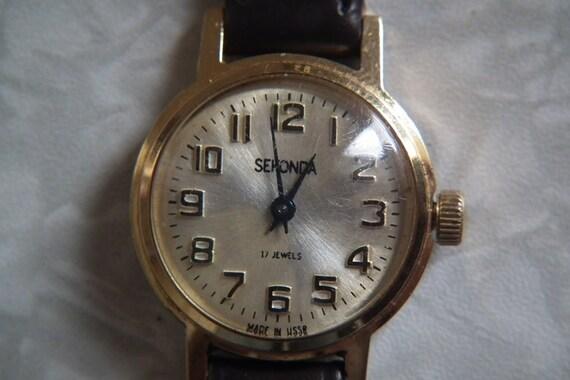 Механические часы sekonda на 17 jewels