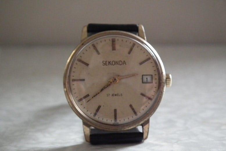Наручные мужские часы Sekonda 27 jewels СССР - YouTube