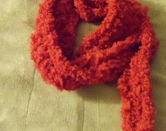 Handmade Scarf Woolie Bullie Yarn