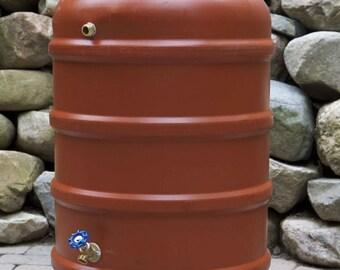 DIY Terra Cotta Rain Barrel Kit