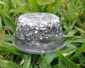 Orgonite mini TB IceDrop Clear- Quartz Crystal - Aluminium - Orgone Energy Reiki