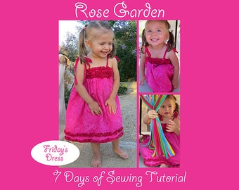 Friday Dress Sewing Pattern PDF