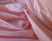 Sewing Supplies, Pink Fabric, Textile, Slips, Satiny Fabric, Child's Clothes, Doll Clothes, Bag Liners, Craft Supplies, Quilt Supplies, Bags