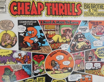 Big Brother and The Holding Company - Cheap Thrills (Janis Joplin vocals)- Vinyl record