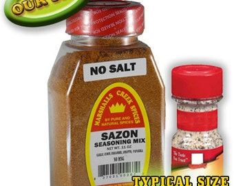 SAZON SEASONING with Annato No MSG, No Salt 11 oz