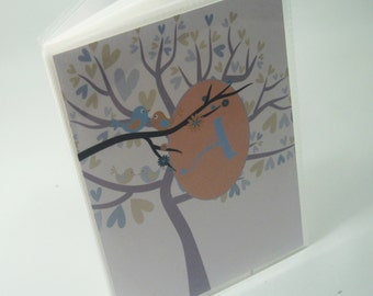 Baby photo album Personalized Photo Album Boy baby album Baby Shower Gift Grandmas brag Book Blue Brown tree 4x6 or 5x7 picture 030
