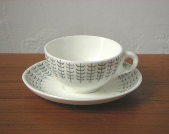 Stig Lindberg for Gustavsberg 'Reso' Coffee Cup & Saucer