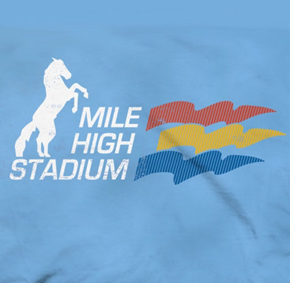 Mile High Water Talk: LoyalTee Mile High Stadium T-Shirt More Colors Available