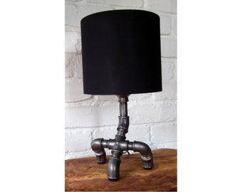 Industrial Chic Table Pipe Lamp
