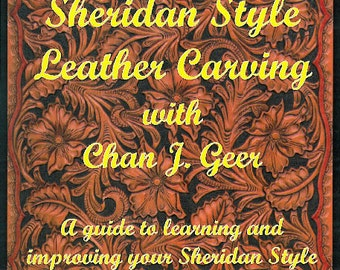 56929- Learn Sheridan Style Leather Carving Chan J Geer Leather craft Instructional DVD